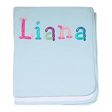 Liana Princess Balloons baby blanket