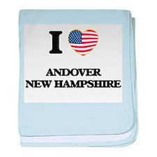 I love Andover New Hampshire baby blanket
