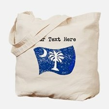 South Carolina State Flag (Distressed) Tote Bag