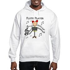 Flute Player Hoodie