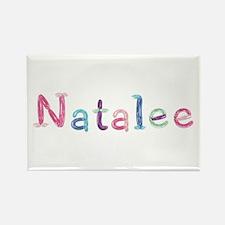 Natalee Princess Balloons Rectangle Magnet