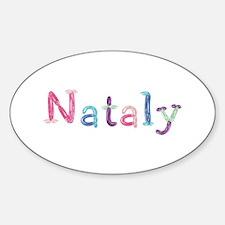 Nataly Princess Balloons Oval Decal