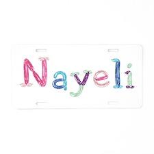 Nayeli Princess Balloons Aluminum License Plate