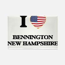 I love Bennington New Hampshire Magnets
