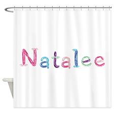 Natalee Princess Balloons Shower Curtain