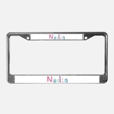Nadia Princess Balloons License Plate Frame