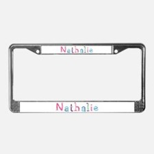 Nathalie Princess Balloons License Plate Frame