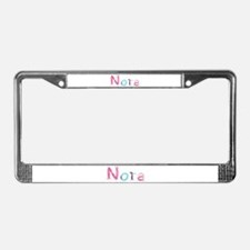 Nora Princess Balloons License Plate Frame