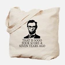 Cool Hipster Tote Bag
