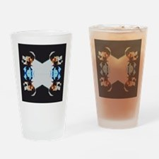 Funny Mac Drinking Glass