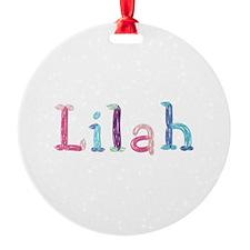 Lilah Princess Balloons Ornament
