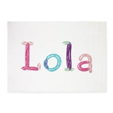 Lola Princess Balloons 5'x7' Area Rug