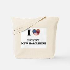 I love Bristol New Hampshire Tote Bag