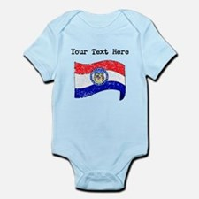 Missouri State Flag (Distressed) Body Suit