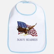 Navy Seabees Bib