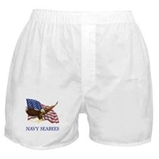 Navy Seabees Boxer Shorts