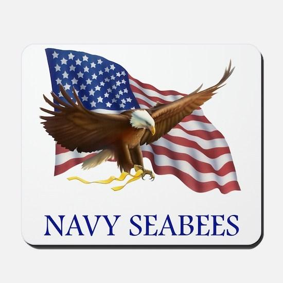 Navy Seabees Mousepad