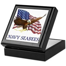Navy Seabees Keepsake Box