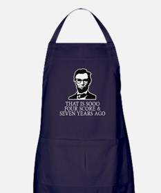 Hipster Lincoln Apron (dark)