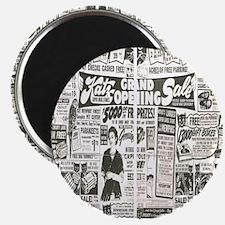 Vintage News Magnet