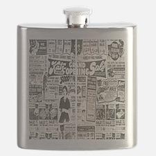 Vintage News Flask