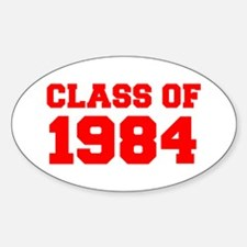 CLASS OF 1984-Fre red 300 Decal