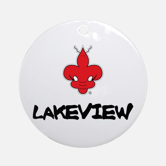 LAKEVIEW Ornament (Round)