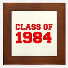 CLASS OF 1984-Fre red 300 Framed Tile