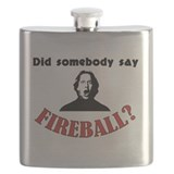 Fireball Flask Bottles