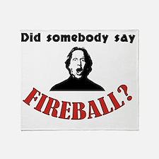 Unique Fireball Throw Blanket