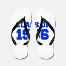 CLASS OF 1986-Fre blue 300 Flip Flops