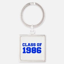CLASS OF 1986-Fre blue 300 Keychains