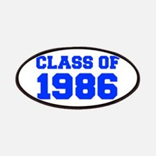CLASS OF 1986-Fre blue 300 Patch