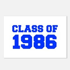 CLASS OF 1986-Fre blue 300 Postcards (Package of 8