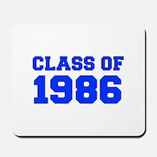 CLASS OF 1986-Fre blue 300 Mousepad