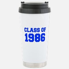 CLASS OF 1986-Fre blue 300 Travel Mug