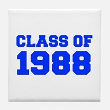 CLASS OF 1988-Fre blue 300 Tile Coaster