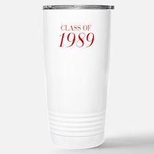 CLASS OF 1989-Bau red 501 Travel Mug