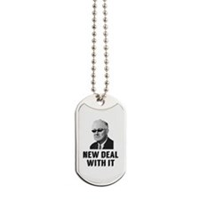 New Deal With It Dog Tags