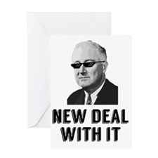 New Deal With It Greeting Card