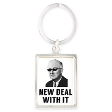 New Deal With It Portrait Keychain