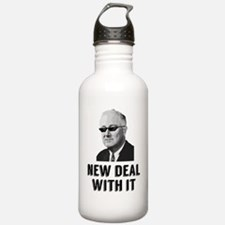 New Deal With It Water Bottle