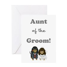 AUNT of the GROOM Greeting Card