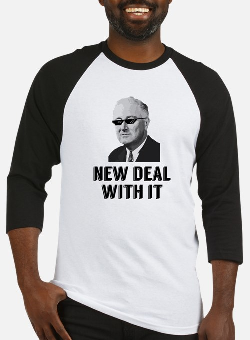 New Deal With It Baseball Jersey