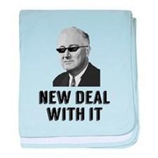 New Deal With It baby blanket