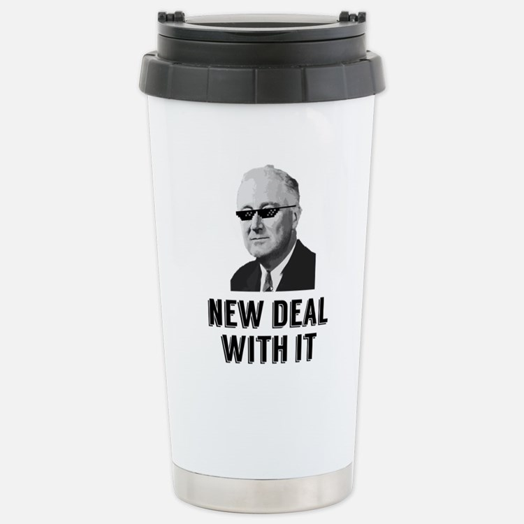 New Deal With It Travel Mug