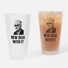 New Deal With It Drinking Glass