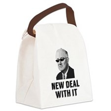 New Deal With It Canvas Lunch Bag