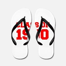 CLASS OF 1990-Fre red 300 Flip Flops