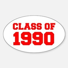 CLASS OF 1990-Fre red 300 Decal